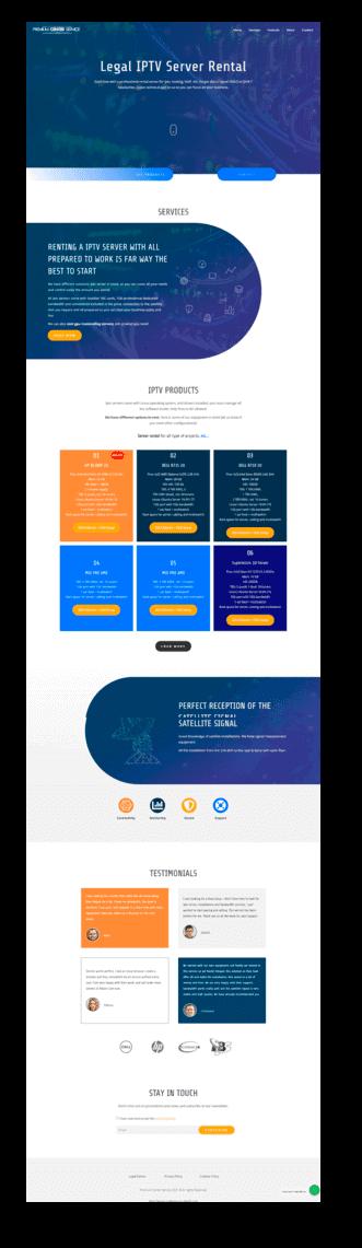 Proyecto web premium center service - diwify.com