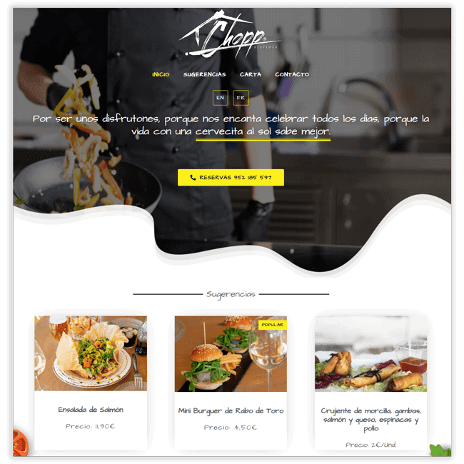 Proyecto Chopp Playamar - Diwify.com